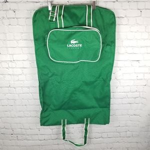 LACOSTE | zip garment travel duffel bag